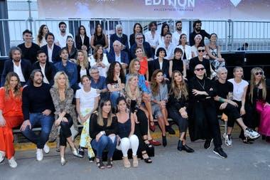 Todos los diseñadores que participaron del evento