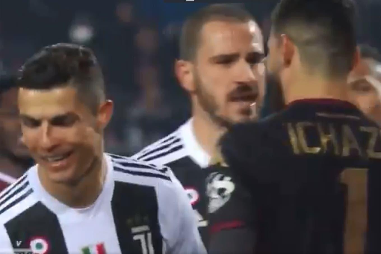 Cristiano Ronaldo festejó un gol en la cara del arquero rival y hubo polémica