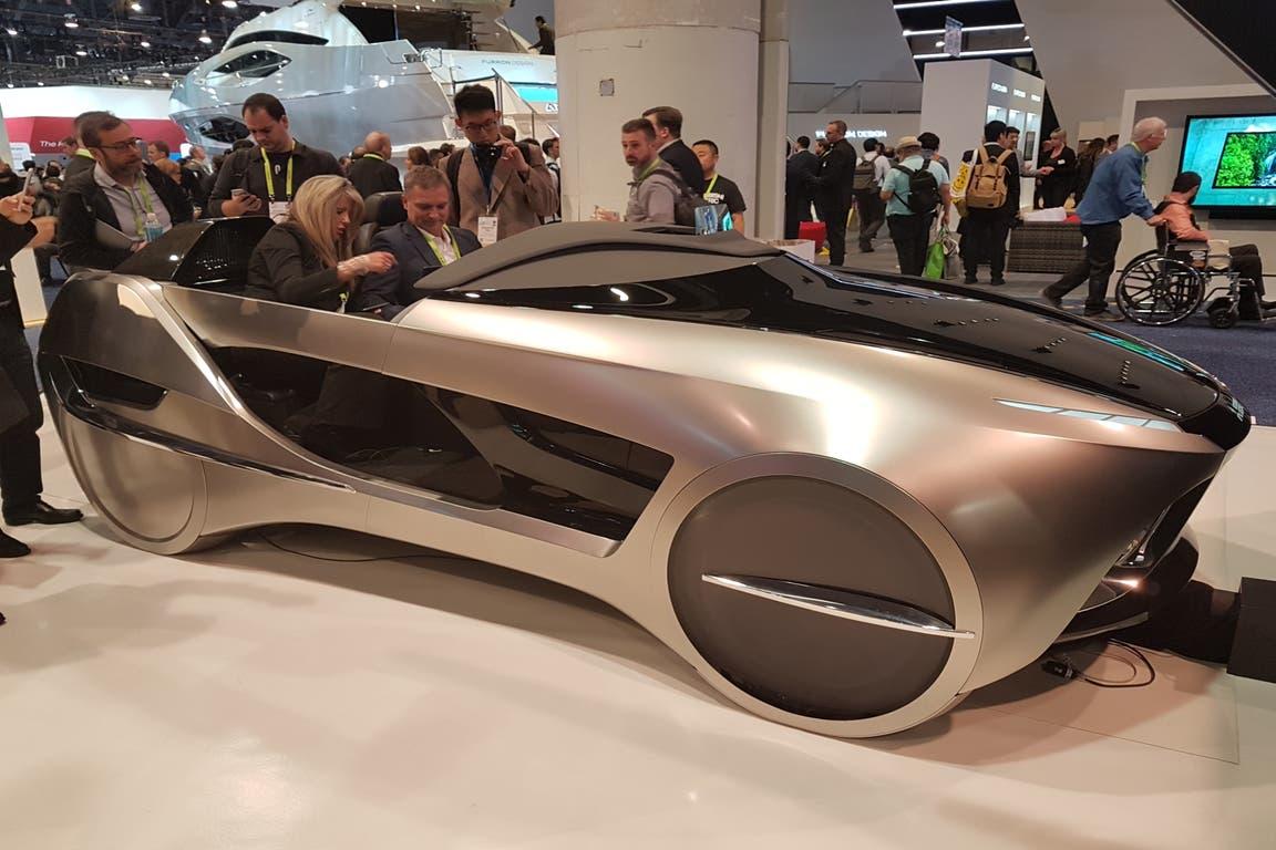 Mitsubishi Emirai 4. Este concept de la firma japonesa es el banco de pruebas de tecnologías de asistencia a la conducción