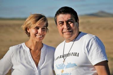 María Gabriela Suárez, de 48 años, y Daniel Verón, de 56