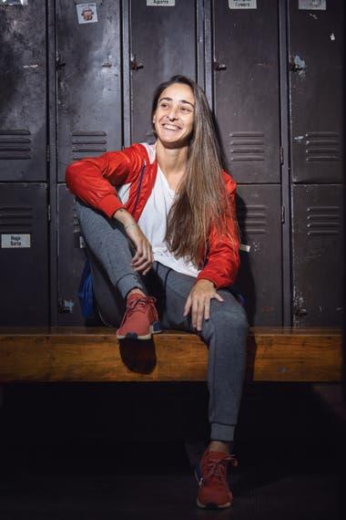 Macarena Sánchez Jeanney (27), exjugadora de UAI Urquiza y militante de la causa