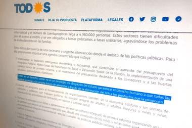 El Frente de Todos propone eliminar el IVA a los alimentos, pero Fernández cuestionó que Macri lo hiciera