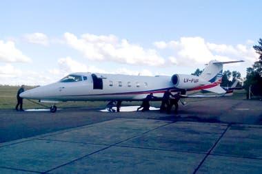 Aeronave matrícula LV-FUF de Baires Fly