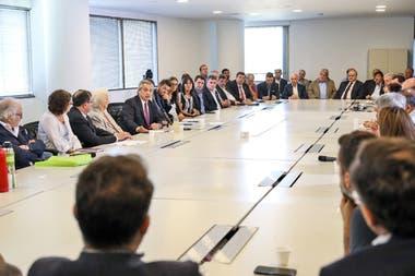 Hubo referentes del agro en la reunión por el plan de Fernández contra el hambre