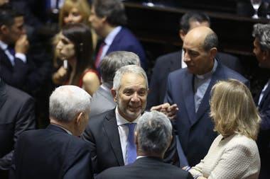 Julio Alak en la asunción de Axel Kicillof como gobernador de la provincia de Buenos Aires