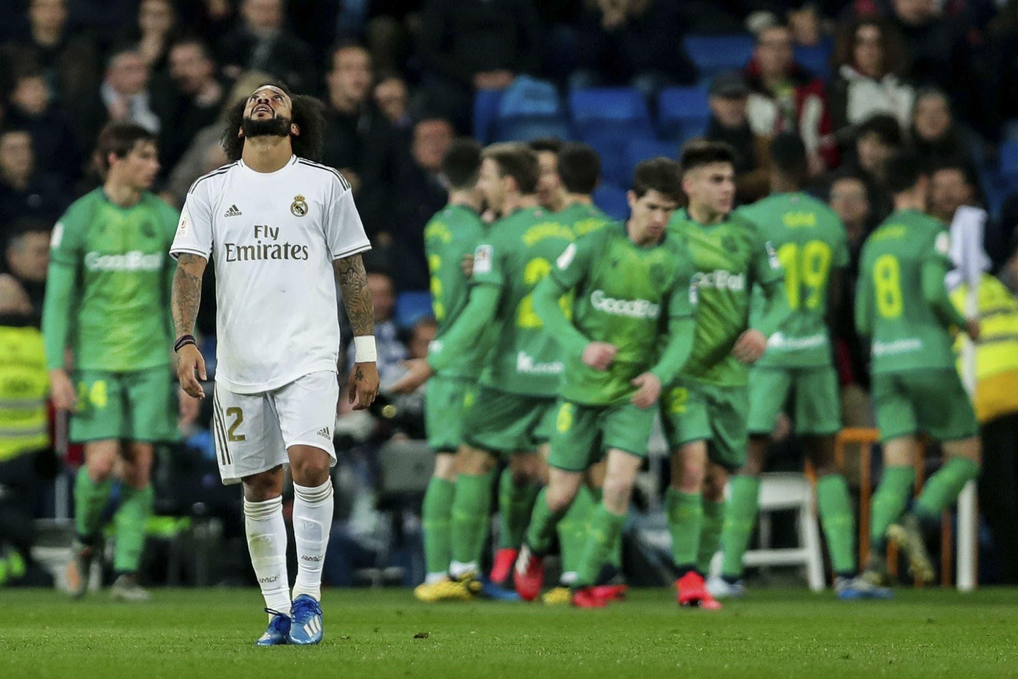Real Madrid, eliminado: Real Sociedad le ganó y lo sacó de la Copa del Rey en el Santiago Bernabéu