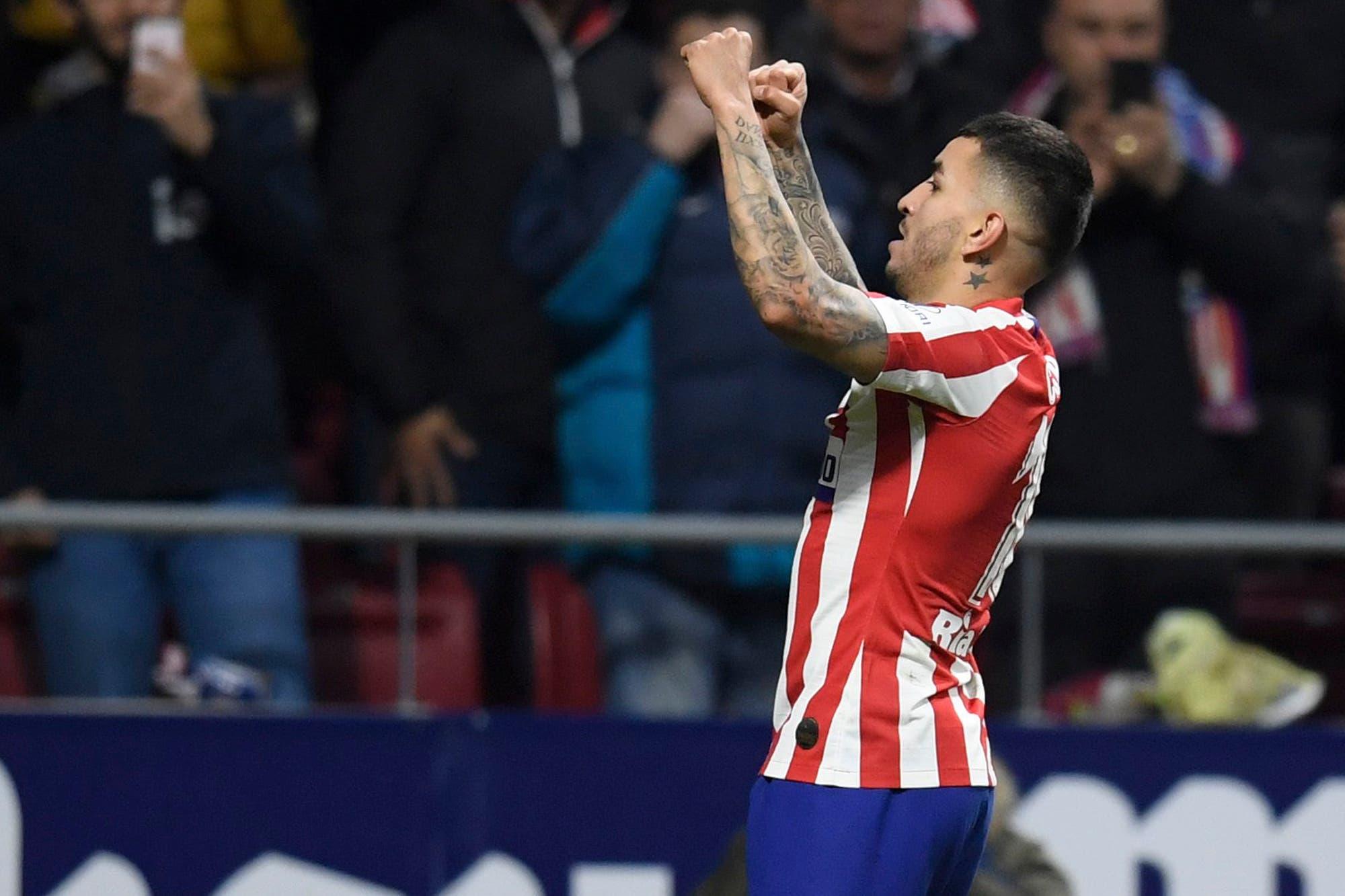 Ángel Correa le dio la victoria y aire al Atlético de Madrid del Cholo Simeone: frenó la serie de derrotas