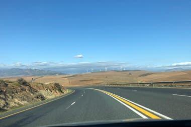 La ruta a Puerto Elizabeth, que Tomás y su esposa debieron recorrer antes de tiempo