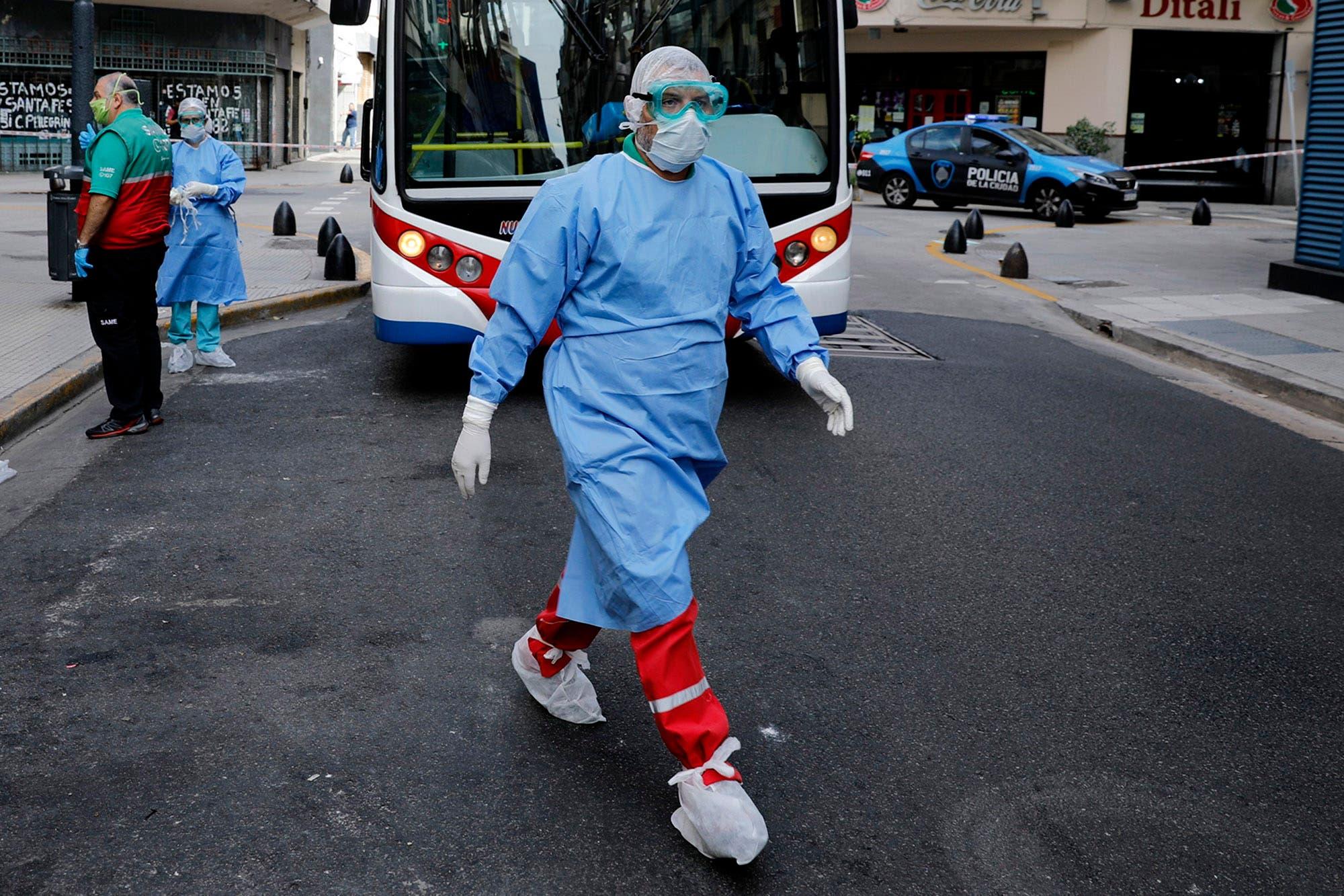 Coronavirus en la Argentina: hay 88 casos nuevos y se superó la barrera de mil infectados