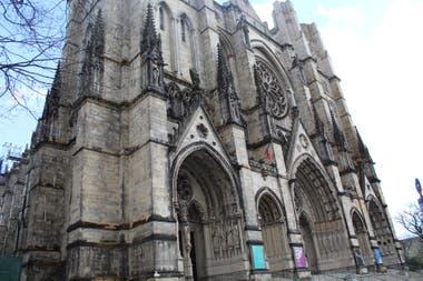 La catedral St. John the Divine se convierte en hospital transitorio