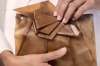 Verónica Bergottini creó un biomaterial a base de yerba mate