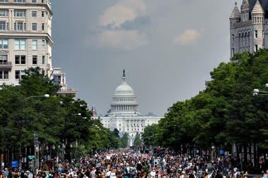 Washington, a las puertas de una megamanifestación contra la violencia policial