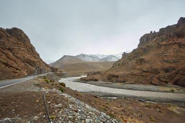 La localidad de Las Loicas, en el límite con Chile, quedaría anegada si se concreta la represa