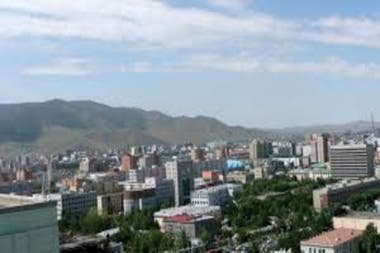 Ulan Bator, la capital de Mongolia