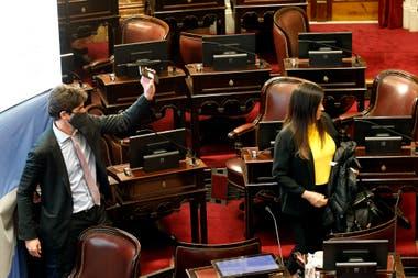 En una sesión tensa, el kirchnerismo avanza para desplazar de sus cargos a los camaristas Leopoldo Bruglia, Pablo Bertuzzi y Germán Castelli