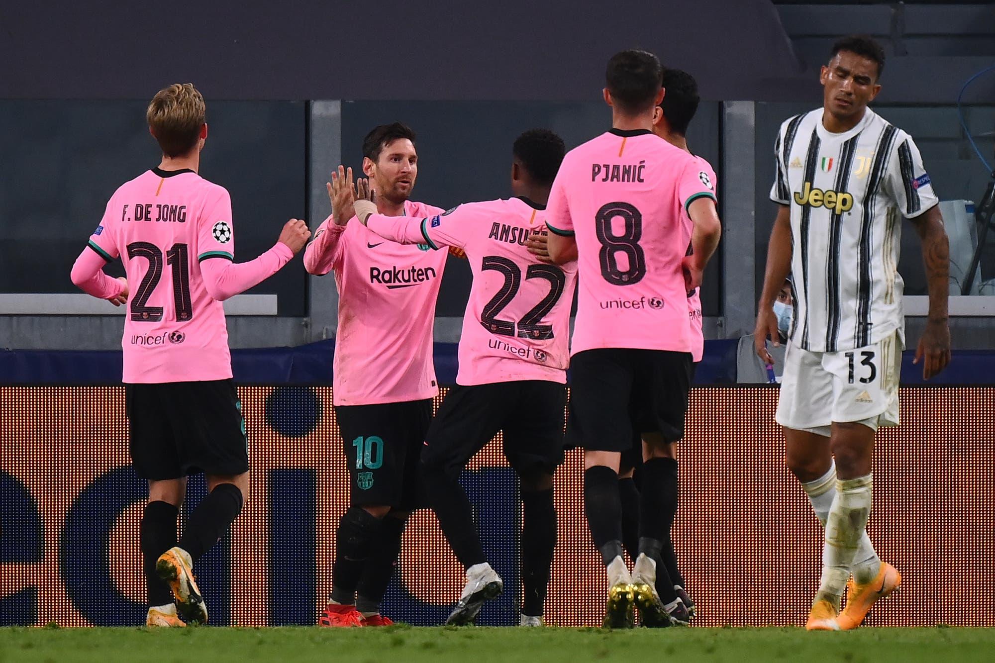 Con un gol de Lionel Messi, Barcelona logró un gran triunfo ante Juventus como visitante por la Champions League