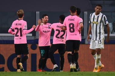En el último minuto, Lionel Messi anotó el 2-0 de penal y Barcelona festejó el regreso a la victoria