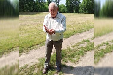 Kazimierz Janikowski fue testigo de la matanza y ayudó a los investigadores a localizar el lugar