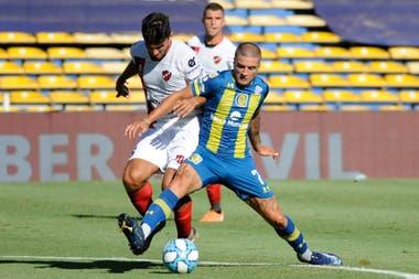 Alan Marinelli, la gran figura de Rosario Central en la goleada ante Patronato por 4-0