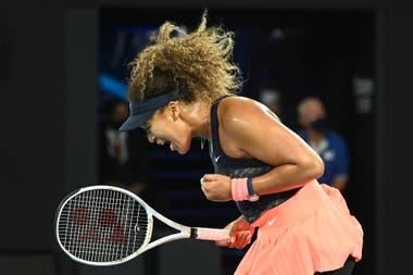 Naomi Osaka, al igual que Mónica Seles, ganó las primeras cuatro finales de Grand Slam que disputó