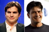 ¿Reinará la paz? Charlie Sheen y Ashton Kutcher, juntos en el final de Two and a half men