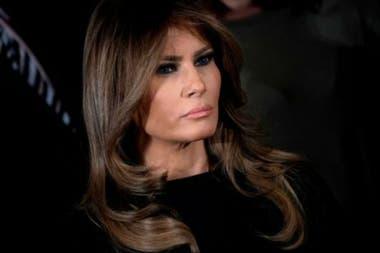 Melania Trump volvió a la Casa Blanca tras ser operada por un problema en el riñón