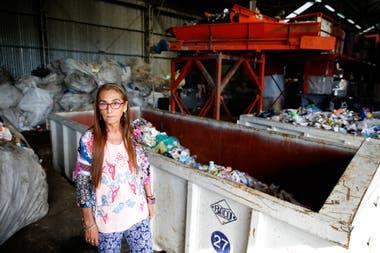 Cristina Lescano es la presidenta de El Ceibo, la cooperativa de recuperadores urbanos que contribuye al cuidado del medio ambiente