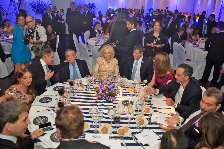 En fotos: Facundo Manes, Mirtha Legrand y Martín Redrado, en la gran cena anual de la fundación INECO