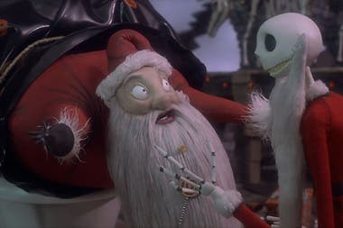 La idea del film El extraño mundo de Jack le surgió a Tim Burton durante su infancia