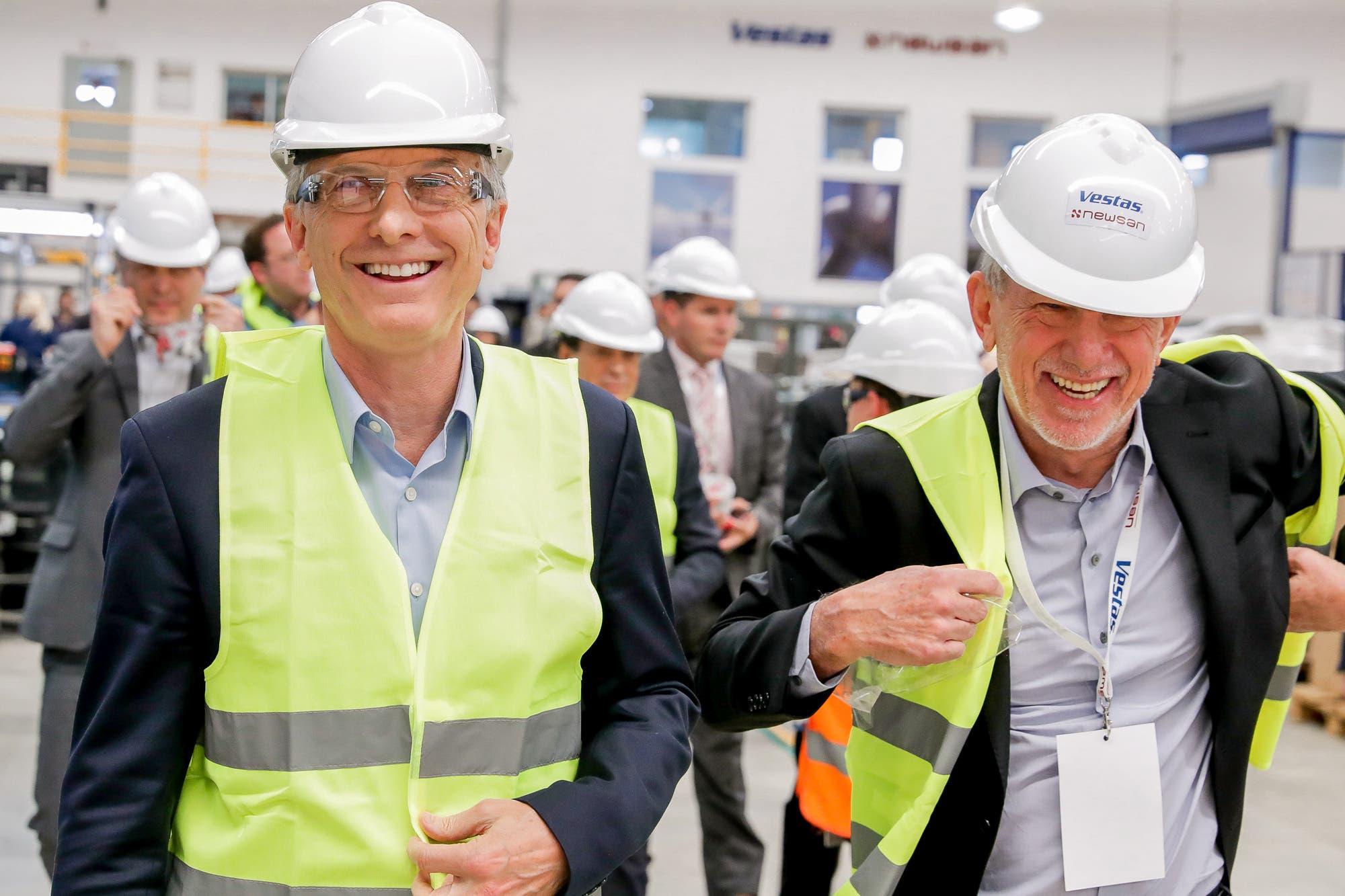 Energías renovables: inauguran una fábrica de molinos eólicos tras una inversión de US$ 22 millones