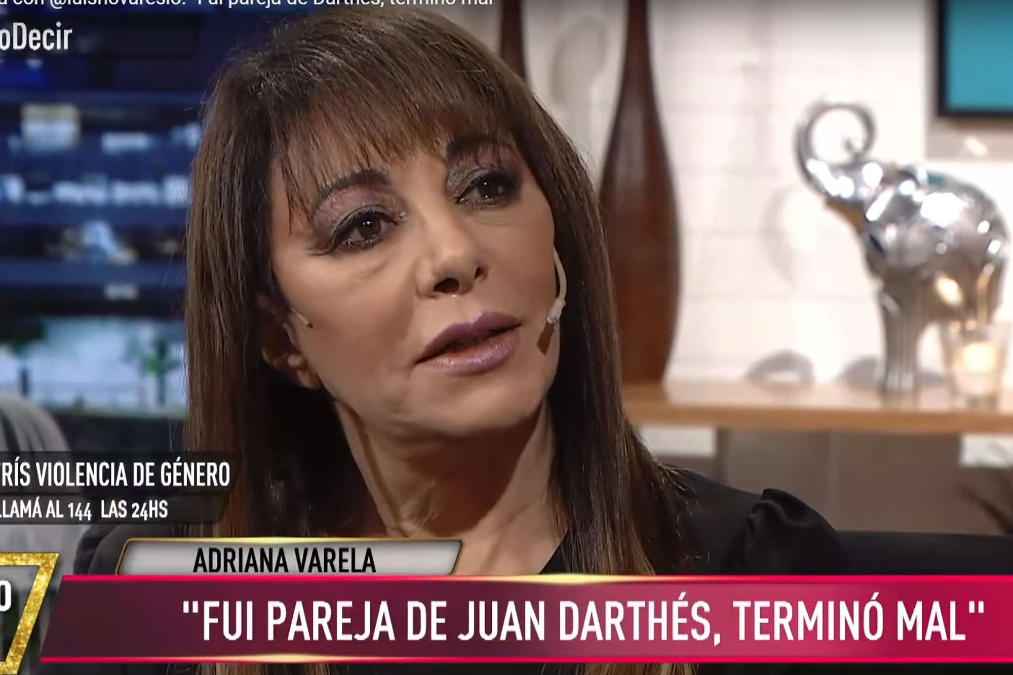 """Adriana Varela habló sobre su relación con Juan Darthés: """"La cosa terminó mal"""""""