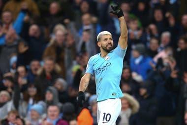 Sergio Agüero, artillero histórico de Manchester City