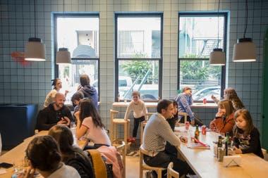 La flamante pizzería Orno ofrece un ambiente moderno y pizzas de gusto originales