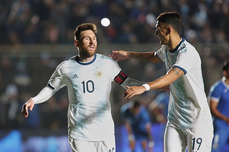 Los puntajes de selección argentina: a Messi le nació un socio rosarino y en el podio entró otro goleador