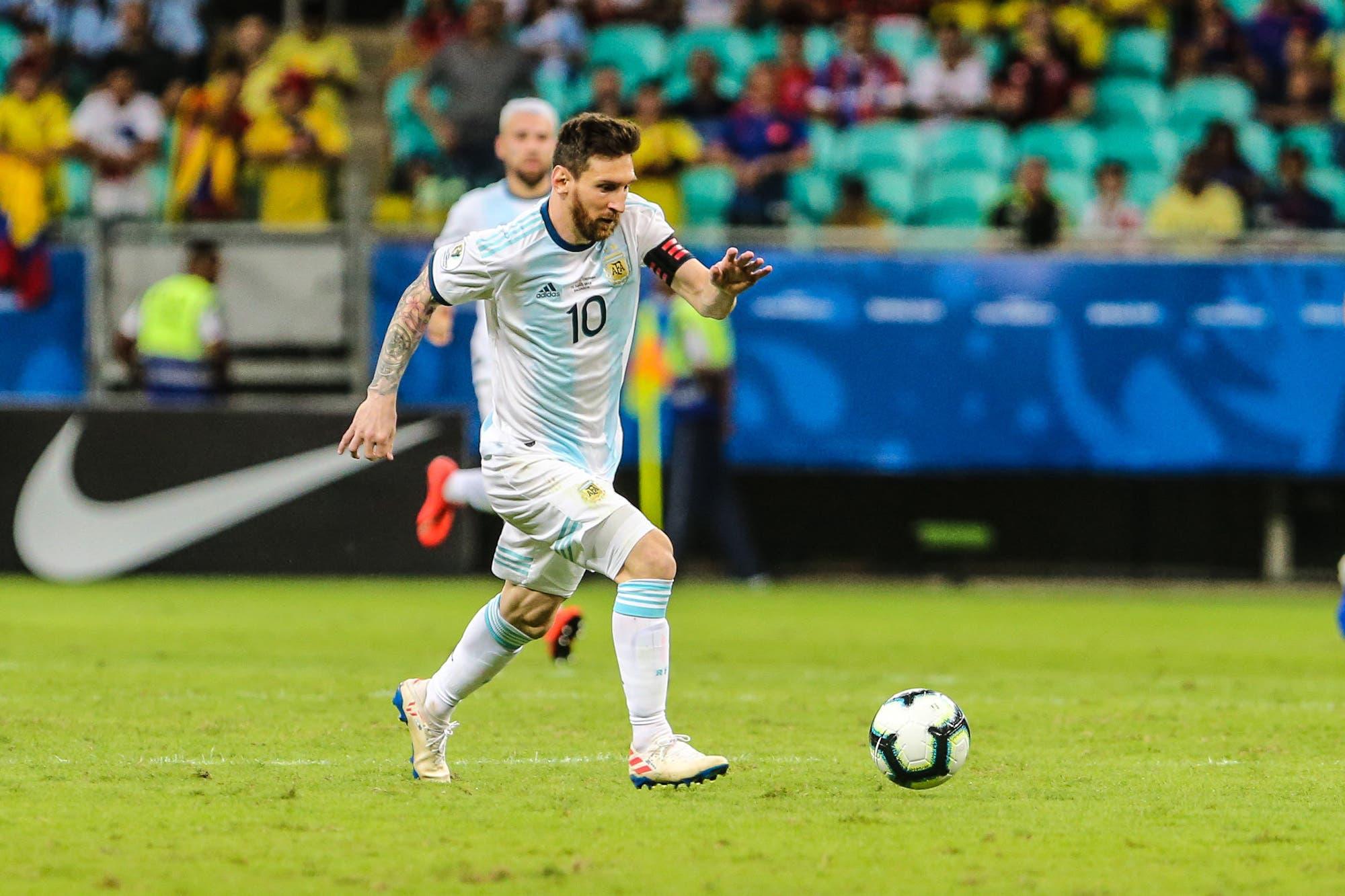Argentina-Paraguay, por la Copa América: horario, TV y formaciones