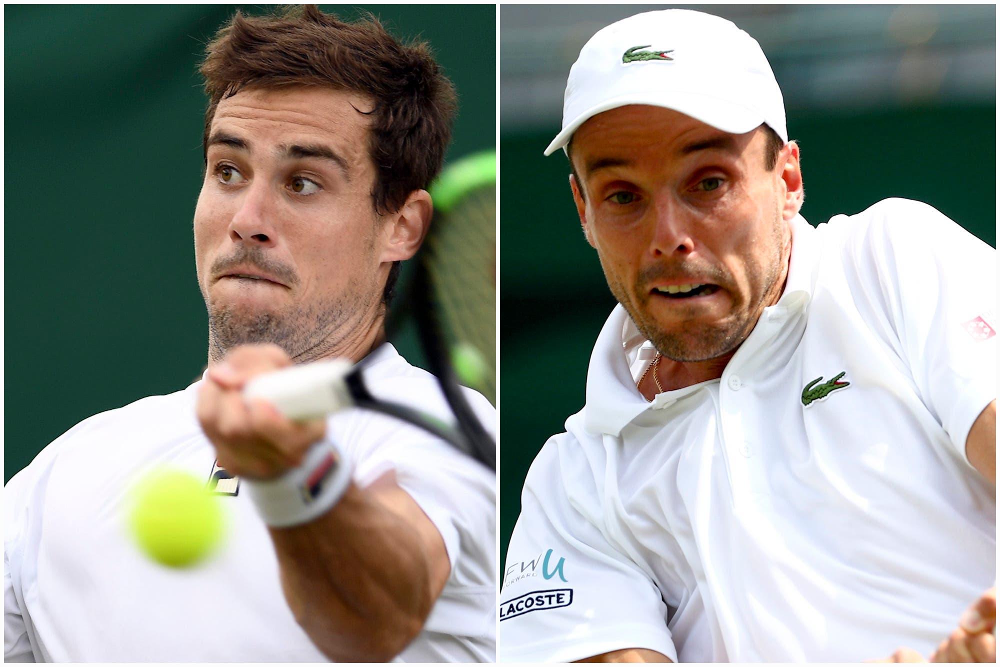 Guido Pella-Roberto Bautista Agut: horario y TV del partido de cuartos de final de Wimbledon