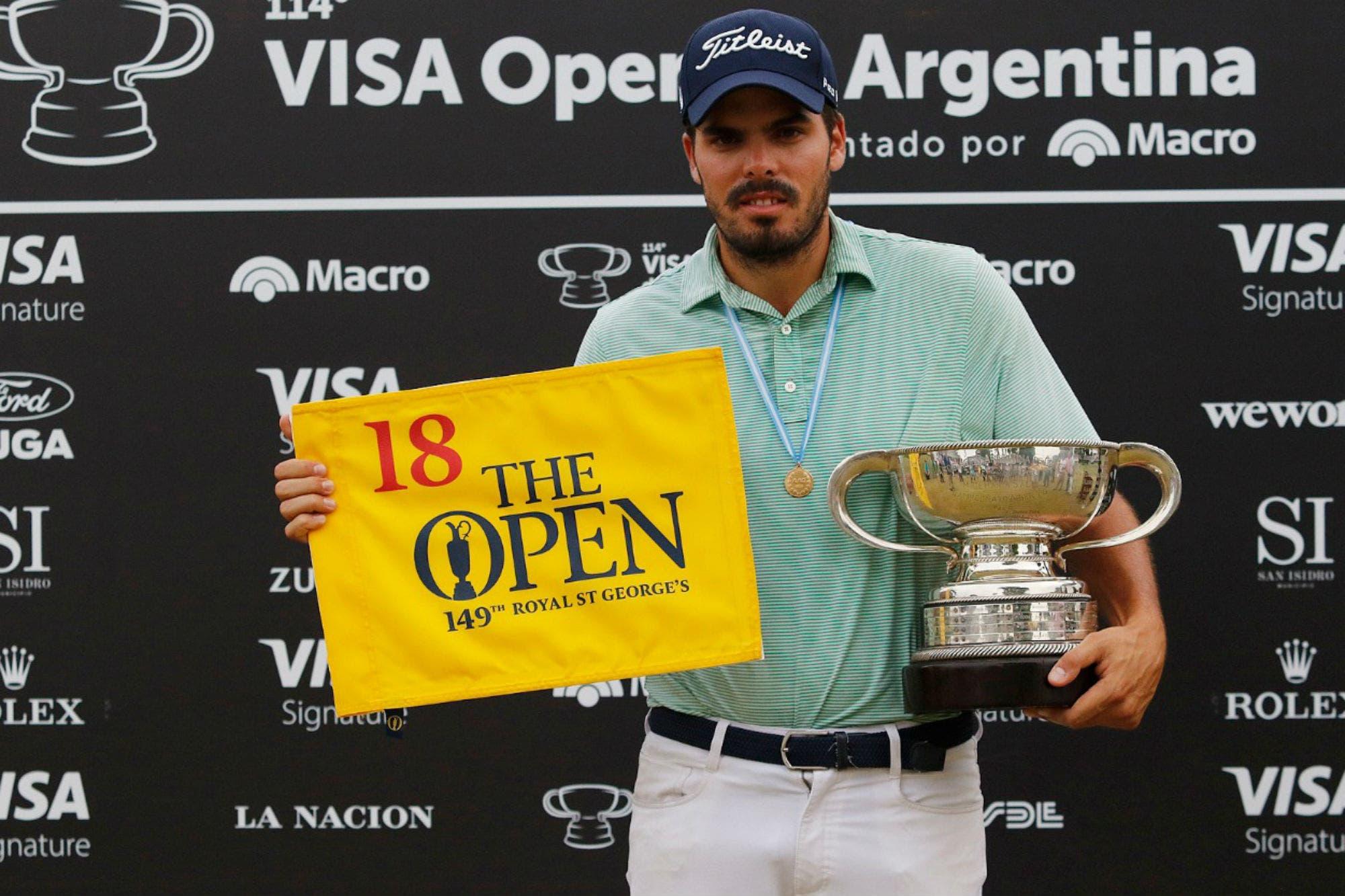 Abierto: el colombiano Ricardo Celia atrapó el torneo en el Jockey que se le escapó a Augusto Núñez