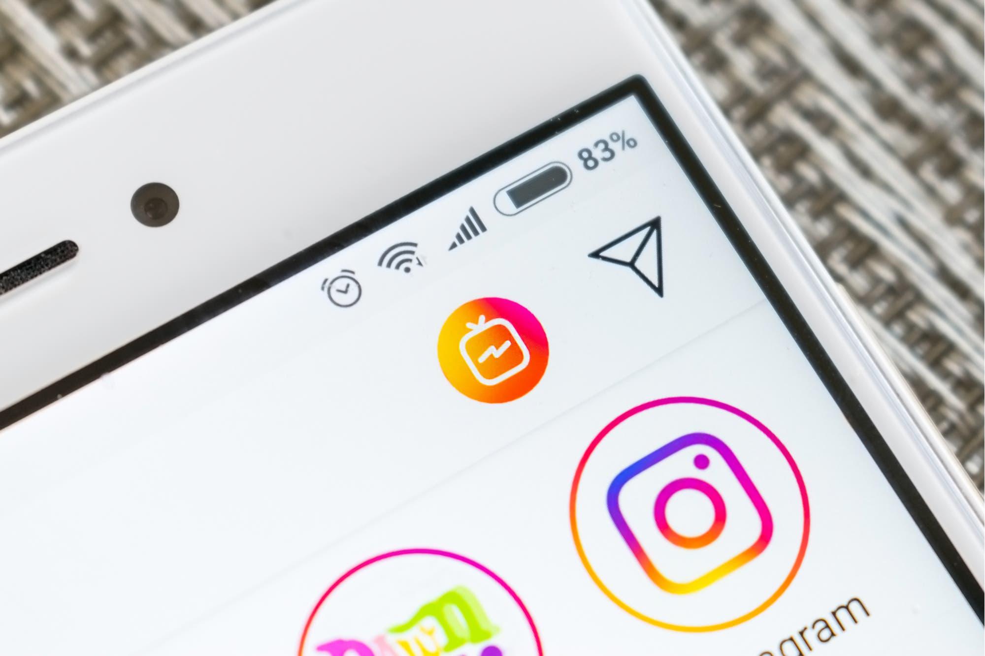 """Instagram eliminó el botón de IGTV porque """"muy poca gente"""" lo usaba"""