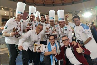 La selección argentina de heladeros artesanales formó parte de la novena edición de la Copa Mundial del helado en Italia y obtuvo el tercer puesto