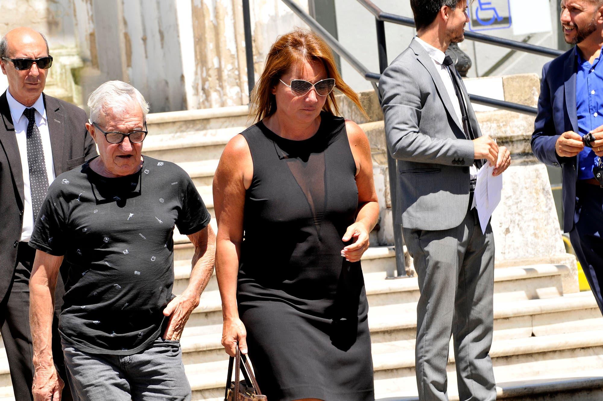 El triste último adiós de Nancy Pazos a su padre, Horacio