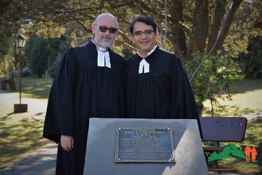 Pastores alemanes participaron del 40 aniversario en diciembre de 2018, y aprovecharon para inaugurar una placa conmemorativa.