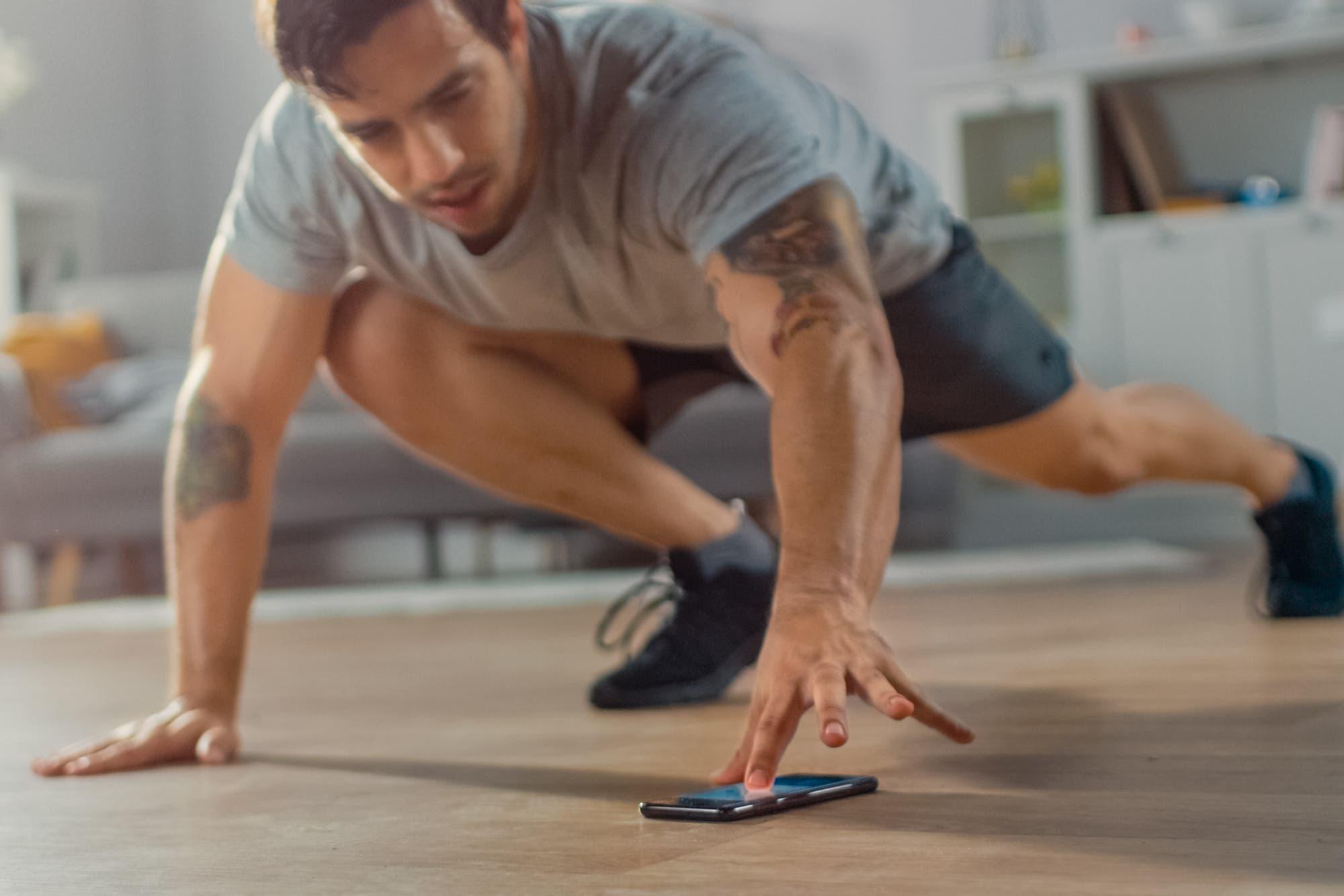 Aplicaciones para hacer deporte en casa durante la cuarentena si sos principiante