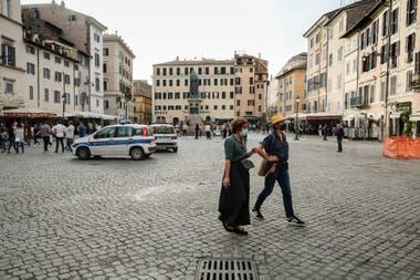 Roma en el primer día de reapertura