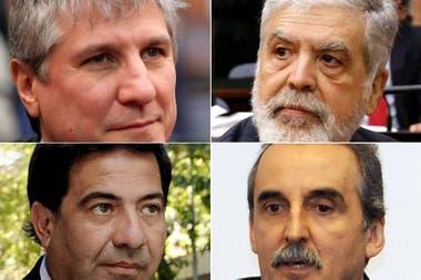 Amado Boudou, Julio De Vido, Ricardo Echegaray y Guillermo Moreno