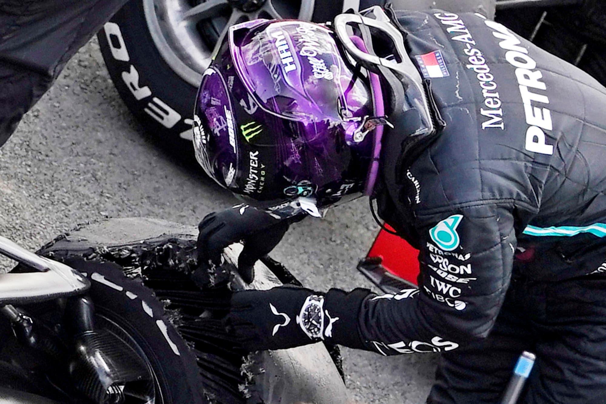 """Fórmula 1. """"La mayor carga de la historia"""": Pirelli explicó las razones de las fallas de los neumáticos en Silverstone"""