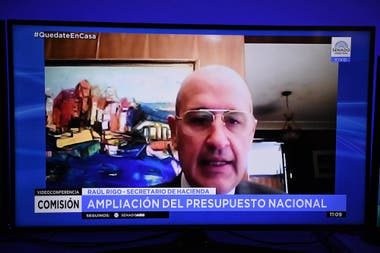 Raúl Rigo expuso en el Senado
