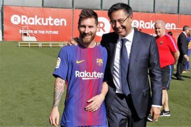 Messi y Bartomeu: tiempos mejores que ya no volverán