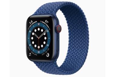 El nuevo Apple Watch Series 6 tiene un altímetro siempre encendido, y una pantalla más brillante