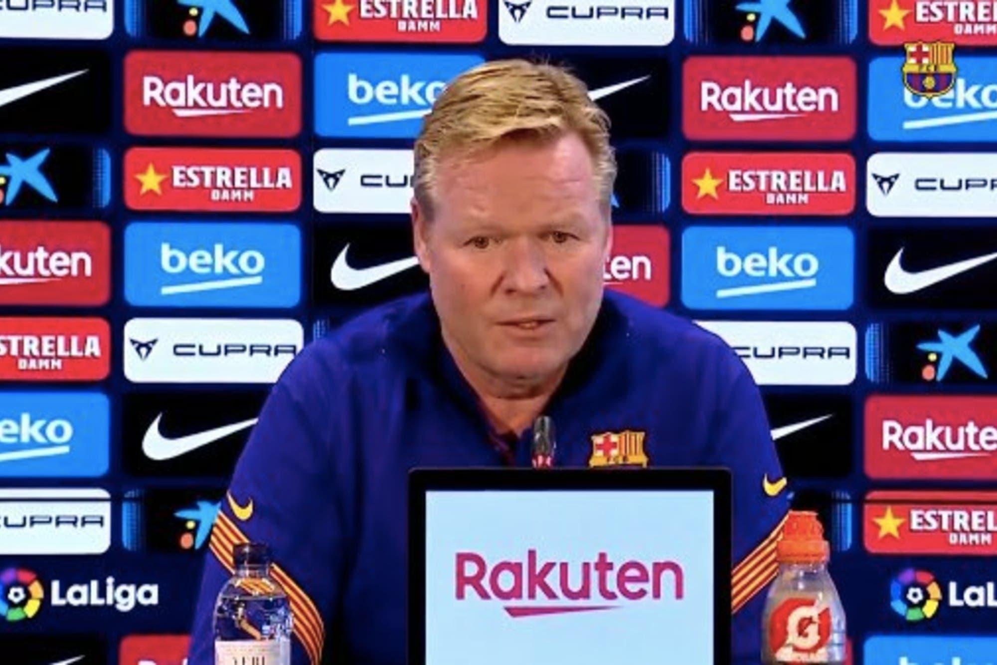 Revelan los insultos que Nyom, de Getafe, le propinó a Ronald Koeman en el partido de Barcelona del sábado