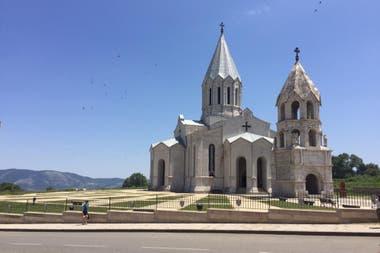 La catedral de Ghazanchetsots, en Shushí